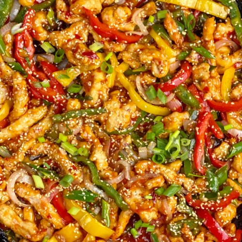 Chicken with Sweet and Chili